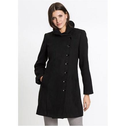 Zwart jasje staande kraag