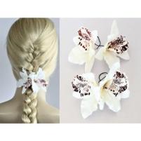 Haarbloemen set