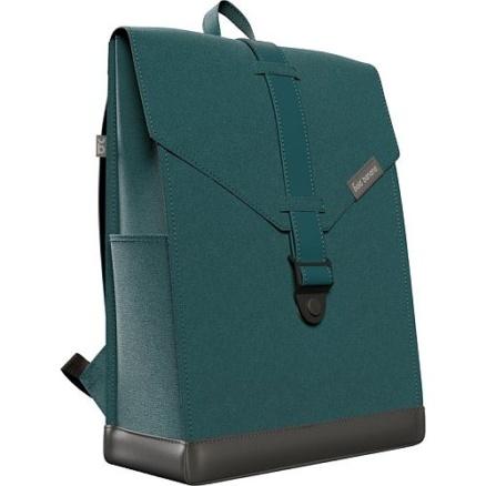 Groene laptop rugzak