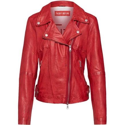 Rood bikerjack